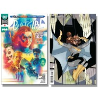 BATGIRL #50 COVER A MIDDLETON + COVER B DODSON VARIANT SET