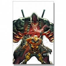 CABLE #5 LIEFELD VENOMPOOL VIRGIN VARIANT