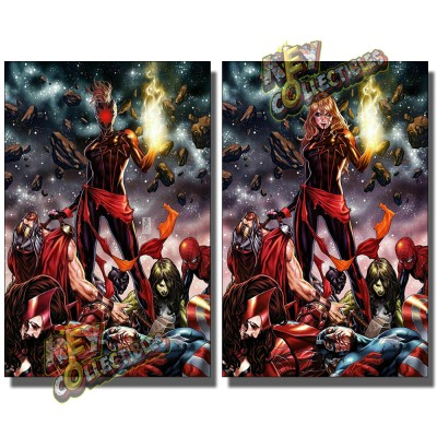 CAPTAIN MARVEL #12 MARK BROOKS VIRGIN VARIANT SET (1ST APP DARK STAR)