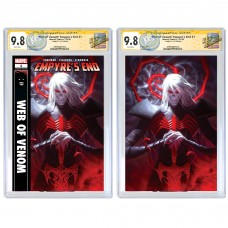 WEB OF VENOM #1: EMPYRES CGC SIGNATURE SERIES SIGNED BY ALEX GARNER - 11/20/20 SIGNING