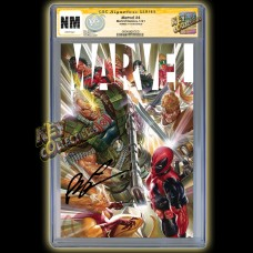 MARVEL #4 ALEX ROSS COVER CGC SIGNATURE SERIES SIGNED BY ROB LIEFELD - MID FEBRUARY 2021 SIGNING