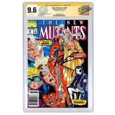 THE NEW MUTANTS #98 CGC SS 9.6 (UPC) SIGNED BY ROB LIEFELD