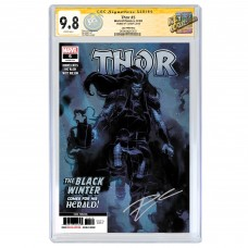 THOR #5 3RD PRINTING CGC SS 9.8 SIGNED BY DONNY CATES