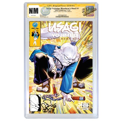 USAGI YOJIMBO: WANDERER'S ROAD CGC SIGNATURE SERIES SIGNED BY STAN SAKAI - LATE NOVEMBER SIGNING