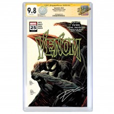 VENOM #25 CGC SIGNATURE SERIES 9.8 SIGNED BY DONNY CATES