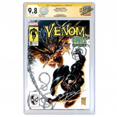 VENOM #26 PHILIP TAN COVER B VARIANT CGC SIGNATURE SERIES 9.8 SIGNED BY DONNY CATES