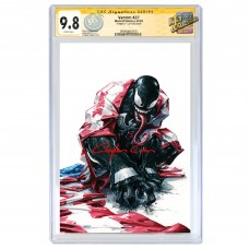 VENOM #27 CRAIN VIRGIN VARIANT CGC SIGNATURE SERIES 9.8 SIGNED BY CLAYTON CRAIN