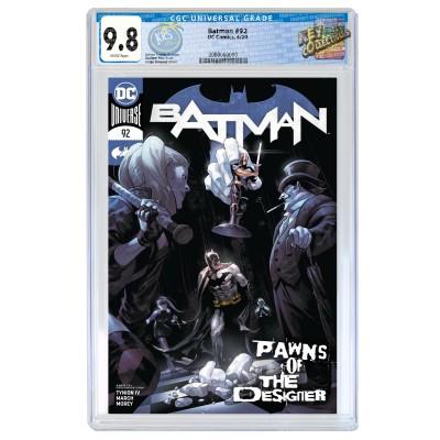 BATMAN #92 YASMIN PUTRI COVER A CGC 9.8