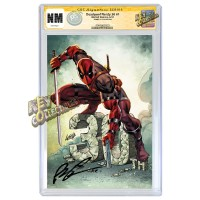 DEADPOOL NERDY 30 #1 COVER A CGC SIGNATURE SERIES SIGNED BY ROB LIEFELD - MID MARCH, 2021 SIGNING