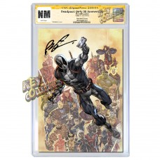 DEADPOOL NERDY 30 #1 COVER B CGC SIGNATURE SERIES SIGNED BY ROB LIEFELD - MID MARCH, 2021 SIGNING