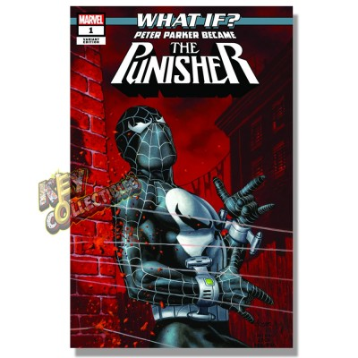 WHAT IF PETER PARKER BECAME THE PUNISHER? #1 JOE JUSKO VARIANT