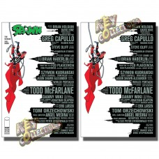 SPAWN #312 SKYLINE VARIANT + VIRGIN VARIANT SET