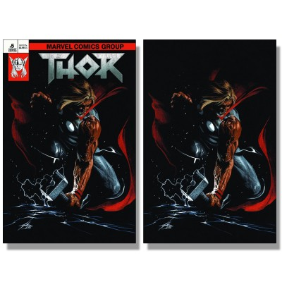 THOR #5 DELL'OTTO TRADE + VIRGIN VARIANT SET