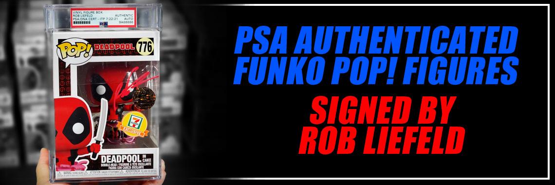 PSA Liefeld Funko POP Figures