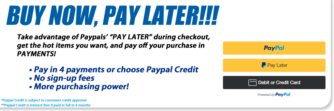 Paypal Pay Later